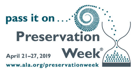VIDEO: Preservation Week 2019 (Part 1)