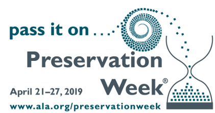 VIDEO: Preservation Week 2019 (Part 1)