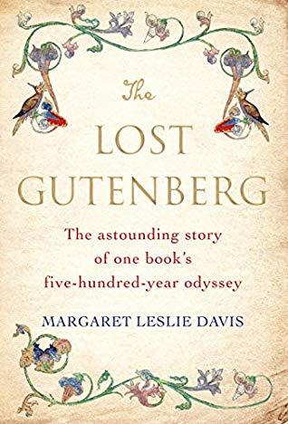 Book cover of The Lost Gutenberg by Margaret Leslie Davis