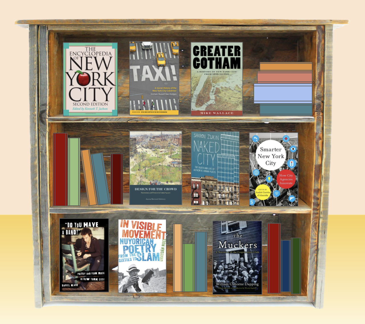 Virtual Book Display Brings NYC to You
