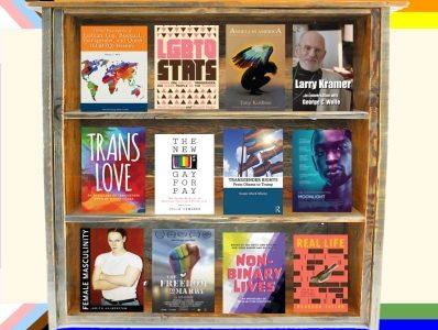 LGBTQ Virtual Book Display