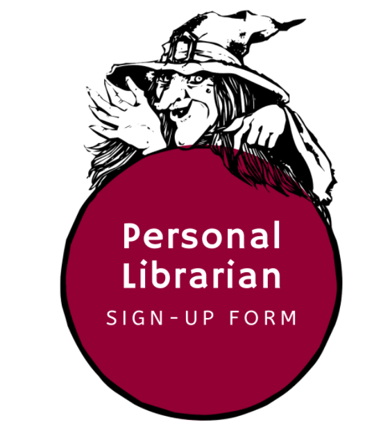 Personal Librarian Sign-Up Form