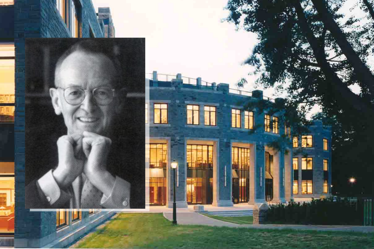 In Memory of Dr. James P. McCabe, Former Library Director